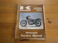 Kawasaki KZ550 Shaft Service Manual