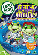 LEAP FROG - MATHS ADVENTURE TO THE MOON - DVD - REGION 2 UK
