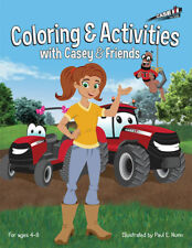 Case IH  Casey And Friends Coloring And Activities Book