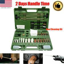 163 Pcs Universal Gun Cleaning Kit Gun Cleaner 9mm .40 .45 .380 Calliber