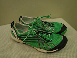 Men's MERRELL PARROT 10 44 Green Running Exercise Fitness Sneakers Shoes