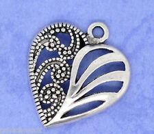 PD: 30 Antik Silber Charms Herzanhänger Perlen Beads für Bettelarmband Kette