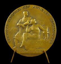 Médaille Pax Labor pour Mme Camille Lambert par Blin 77g 60mm Medal