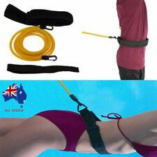 AU Swim Trainer Belt Swimming Resistance Tether Leash Pool Training Aid Harness