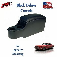 Black Classic Console for 1965 1966 1967 Mustang by TMI - In Stock Ready to Ship