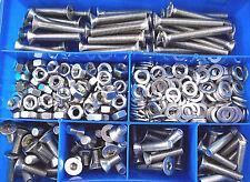 330 Teile Innensechskant Senkkopf-Schrauben Sortiment DIN 7991 M4-M5-M6