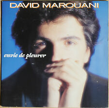 """DAVID MAROUANI """"ENVIE DE PLEURER""""    45T  2 TITRES"""