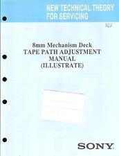 Sony Original Service Manual für Mechanism Mechanik  Video 8 TAPE PATH