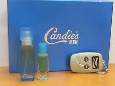 Vintage  Candie's Men set .5 oz Cologne Spray  /.18 oz Cologne Splash key chain