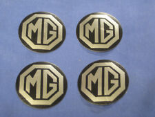 MGB SET OF 4 ROSTYLE CENTRE CAP BADGES  AHH9268   ze33