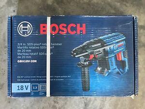 Bosch Bulldog 18V 3/4-in Variable Speed Cordless Rotary Hammer Drill GBH18V-20N