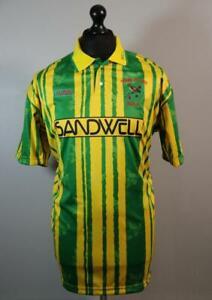 WBA 1992 1993 Retro Remake Playoff Final Away Shirt L