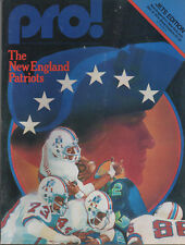 1979 Pro! Magazine NY JETS vs New England Patriots Shea Dec. 9  Vol 7 No 9