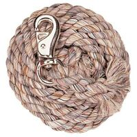 """Weaver Multi-Colored Soft Cotton Lead Rope With Bull Snap 5/8"""" x 10'"""