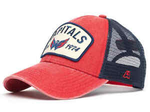 Washington Capitals trucker retro cap hat NHL team Ice hockey club 1974 Ovechkin