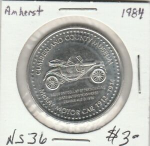 Amherst, NS 1984 Trade Dollar