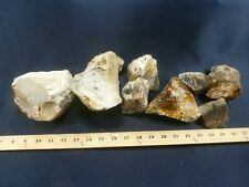 CSS: 11 lbs Of Cutting Jasper & Agate Rough Lapidary Rock For Slabs