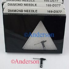 RECORD PLAYER NEEDLE for ASTATIC N74SD, 912DS, 2130DS  275D 349D 351D  169-DS77