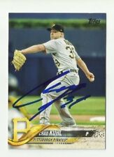 Pittsburgh Pirates CHAD KUHL Signed 2018 Topps Series 1 Card #187