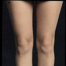 HOT TOPIC SPRING SUMMER  NUDE MEDIUM NET FISHNET TIGHTS ONE SIZE FITS MOST NEW