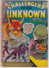 Challengers Of The Unknoan #1 FAIR-GOOD 1.5 Jack Kirby Art First Issue 1958!-