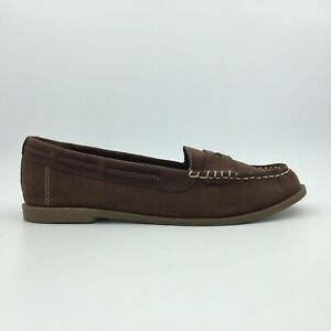 K9 By Rocketdog Womens Shoes Size 9.5M Brown Faux Suede Fur Slip On
