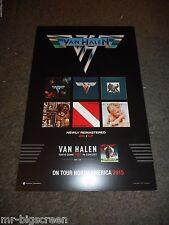 """Van Halen - Tokyo Dome In Concert - Original 11"""" X 17"""" Ss Promo Poster"""
