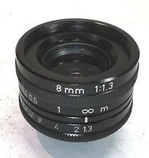 TV Lens 1,3/8mm, c-mount, 8mm, TV Lens, Monacor, Tokina?, Television Lens