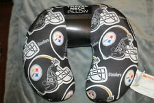 """Pittsburgh Steelers NFL Spandex Squishy Travel Neck Pillow 12"""" x 13"""" (D4)"""