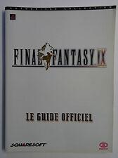 Le Guide Officiel - Final Fantasy IX - Squaresoft