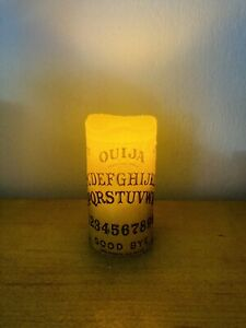 Ouija Board candle LED real wax Halloween Gothic Themed candle