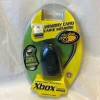 Xbox Memory Card by madcatz with Cheat based GAME SAVES Gameshark NEW cp5-54507