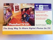 Visioneer Photoport TV 100 Digital Photoviewer Wireless Keyboard Remote NO PC