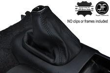 BLACK STITCHING LEATHER GEAR GAITER FITS HONDA PRELUDE MK5 GENERATION 5 97-01