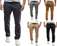 MERISH Chino Hose Regular Stil Chinohose Jeans Schwarz/Braun/Navy Herren Neu 49