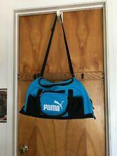 WOMEN PUMA SPORT Duffle / gym / travel / weekender Bag BLUE