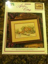 Ashdon Cottage 1201 Carl Valente Cross Stitch Pattern Color Charts 1990
