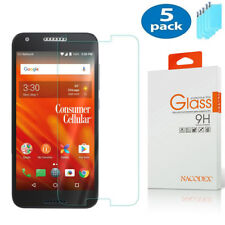 5-Pack Nacodex For Alcatel Kora (A576Cc) Tempered Glass Screen Protector