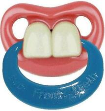 Funny Dummy Pacifier Billy Bob Baby Two Front Teeth w/ Ring Buck Bugs Toy