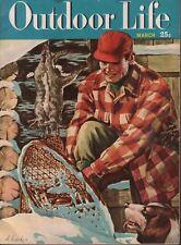 Outdoor Life March  1949 H Hoecker John Dennis 081818DBE