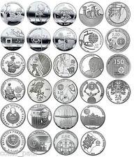 Portugal 2.5 euro set 35  coins 2008 - 2015, UNC Portogallo Португалия 葡萄牙 FDC