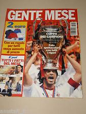 GENTE MESE=2003/6=PAOLO MALDINI=MILAN=TRIONFO CHAMPIONS LEAGUE Vs. JUVENTUS=