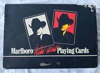 Vintage Marlboro Wild West Playing Cards ~ Rare ~ Marlboro Memorabilia ~ 1 Deck