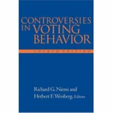 Controversies In Voting Behavior, 4th Edition by Niemi R, Weisberg