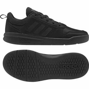 Adidas Junior Running Shoes Tensaur Black Trainers - EF1086
