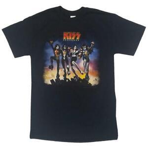 KISS - Destroyer   Black Adult S/S T-Shirt