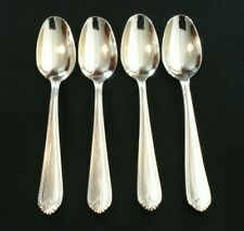 Lenox 18/10 Stainless Flatware BEAD pattern 4 Tablespoons