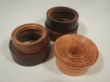 of Watch Movement Holding Rings Watch Repair Tools: Antique Wooden Sets