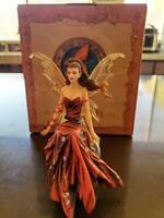 Nene Thomas Fairy Figurine Crimson Lily