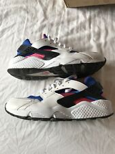 Nike Air Huarache mens trainers, size 9  UK, Royal Blue Pink 318429-146 **RARE**